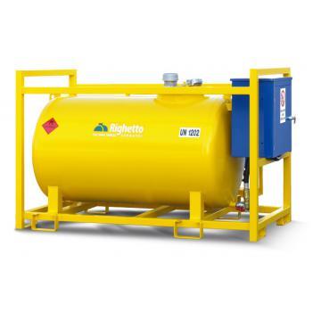 Rezervor, bazin ADR cu pompa 9000 litri
