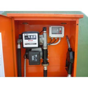 Bazin, rezervor 5000 litri cu pompa Piusi
