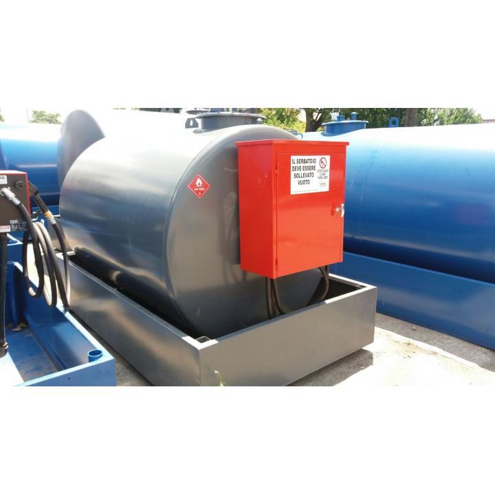 Bazin rezervor statie carburant 3000 litri