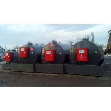Rezervor, statie motorina cu pompa 9000 litri