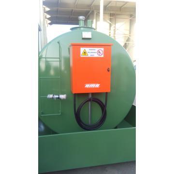 Statie, bazin, rezervor motorina 9000 litri