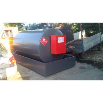 Statie, bazin, rezervor motorina, carburant Righetto 5000l