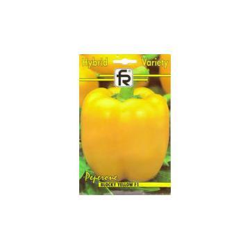 Seminte de ardei gras galben Blocky yellow F1