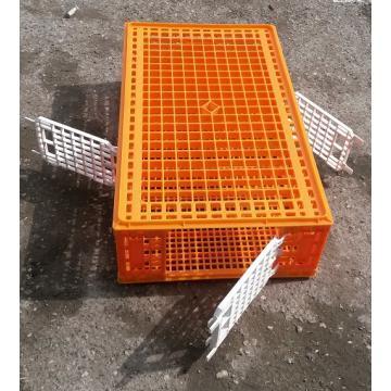 Lada transport cu 3 usi pentru pui, iepuri