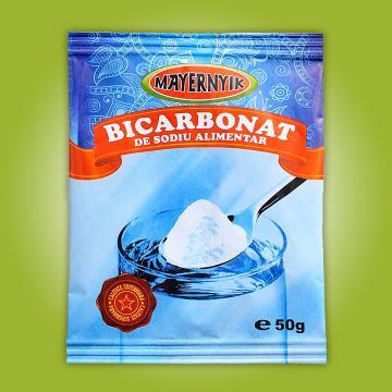 Bicarbonat de sodiu alimentar - 50g