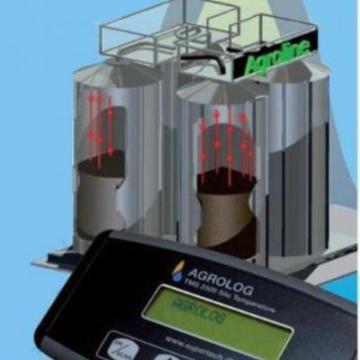 Sistem monitorizare temperatura siloz cereale