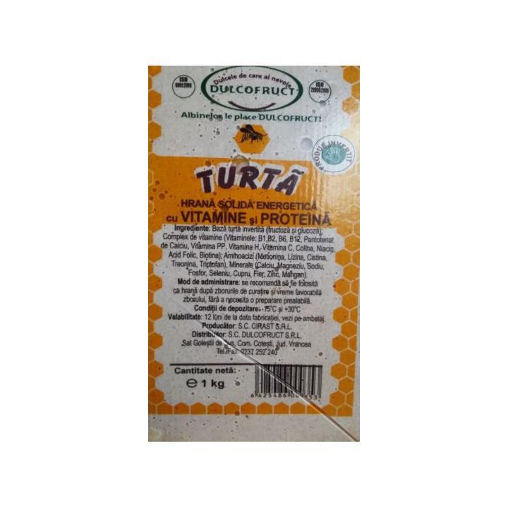 Hrana albine turta cu vitamine si proteina, 1 kg