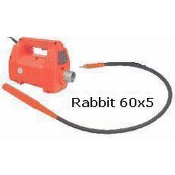 Vibrator intern cu ax flexibil