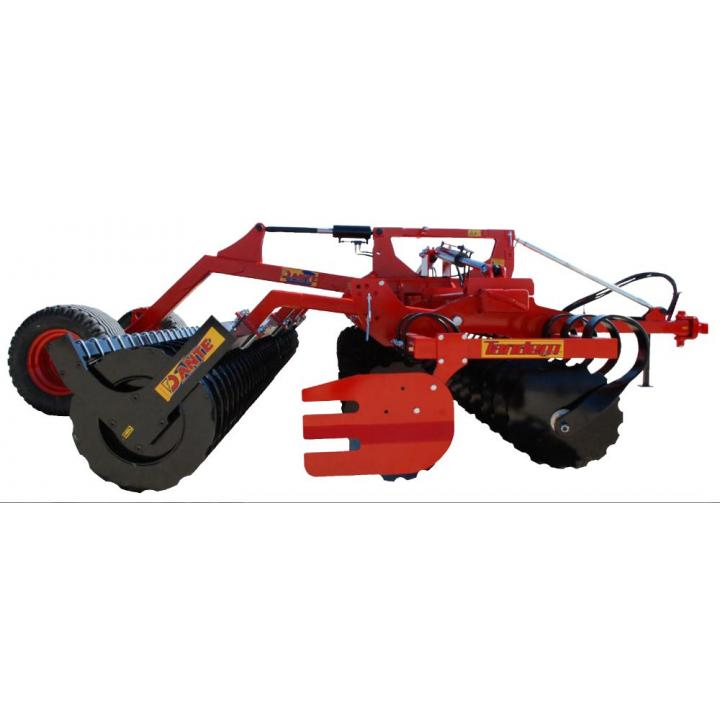 Disc agricol Dante Tandem 600 Tavalug packer taietor - 600mm