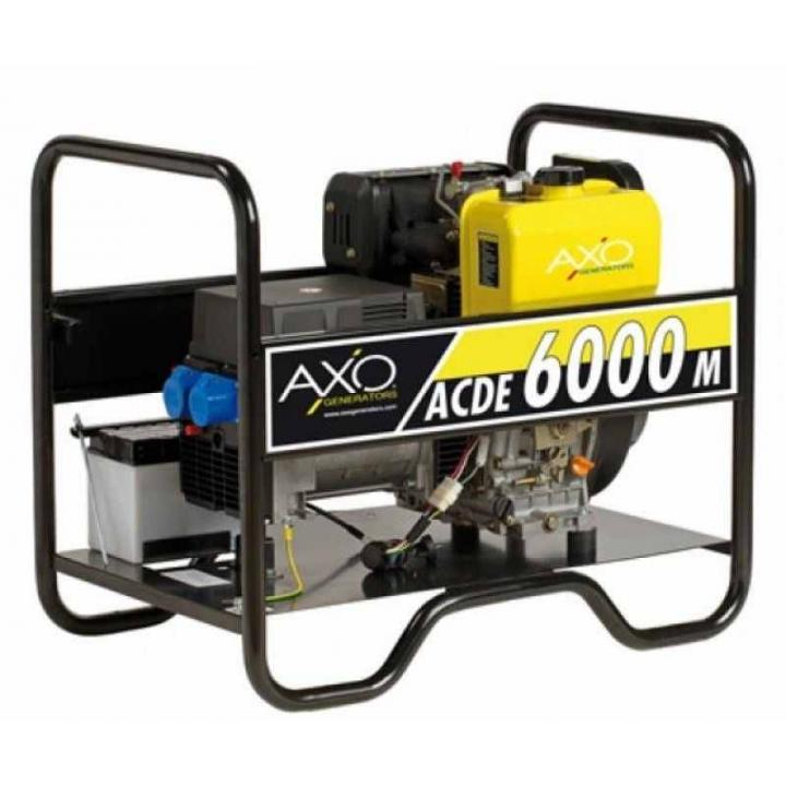 Generator de curent diesel Axo - ACDE 6000m