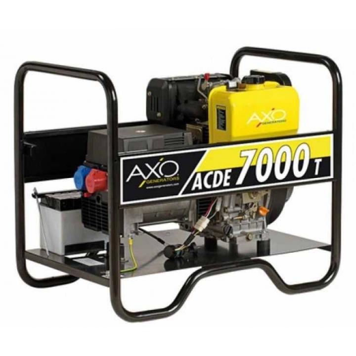 Generator de curent diesel Axo - ACDE 7000t