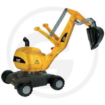 Jucarie excavator Caterpillar copii 1-3 ani