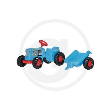 Jucarie tractoras cu pedale + remorca copii 1-3 ani