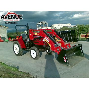 Tractor cu incarcator frontal 25CP, 4x4