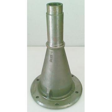 Trompa pentru cositoare rotativa cu 2 tamburi