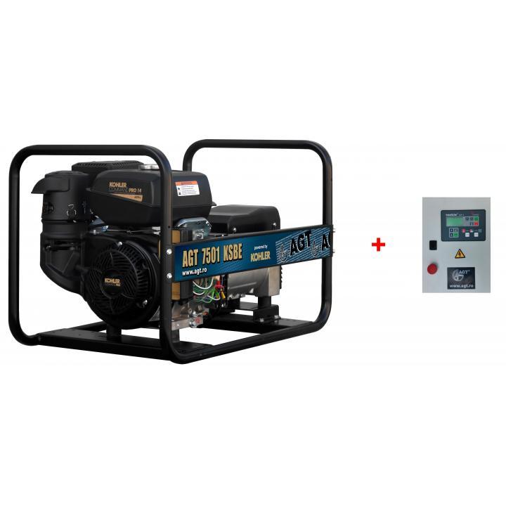 Generator de curent AGT 7501 KSBE + automatizare