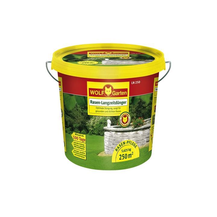 Fertilizator gazon de lunga durata Wolf-Garten LN-MU 250