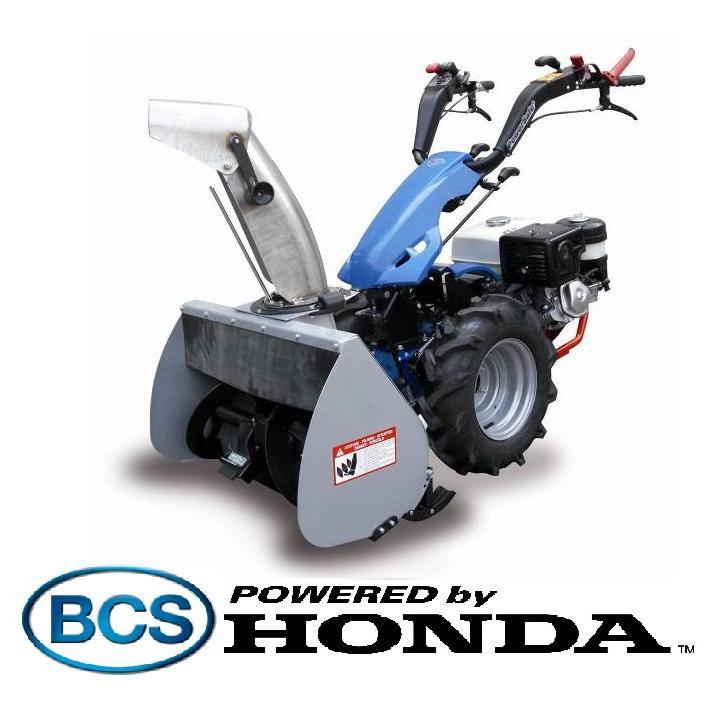 Freza de zapada BCS 740 - cu motor Honda