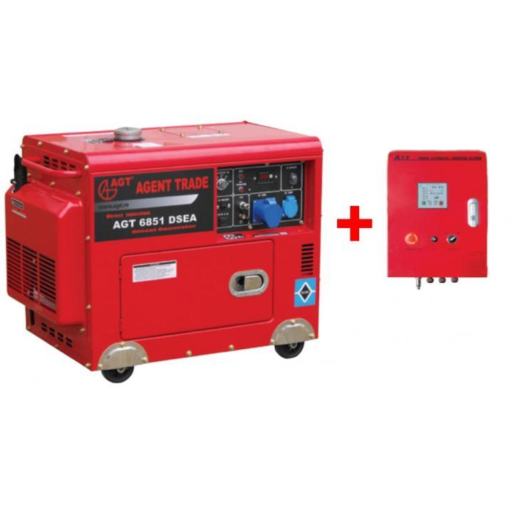 Generator de curent AGT 6851 DSEA + automatizare
