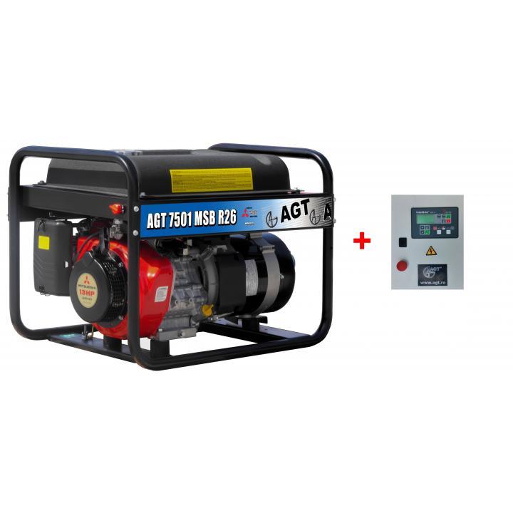 Generator de curent AGT 7501 MSBE R26 + automatizare