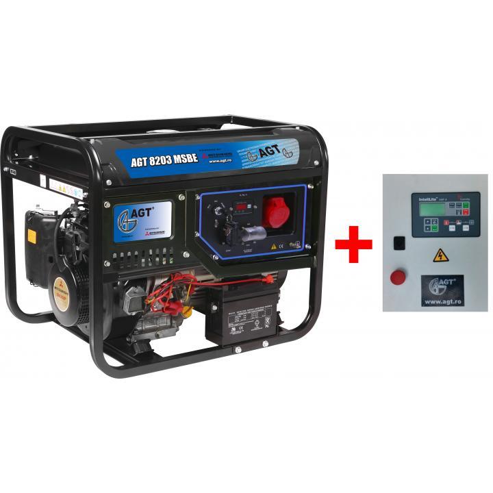 Generator de curent AGT 8203 MSBE + automatizare