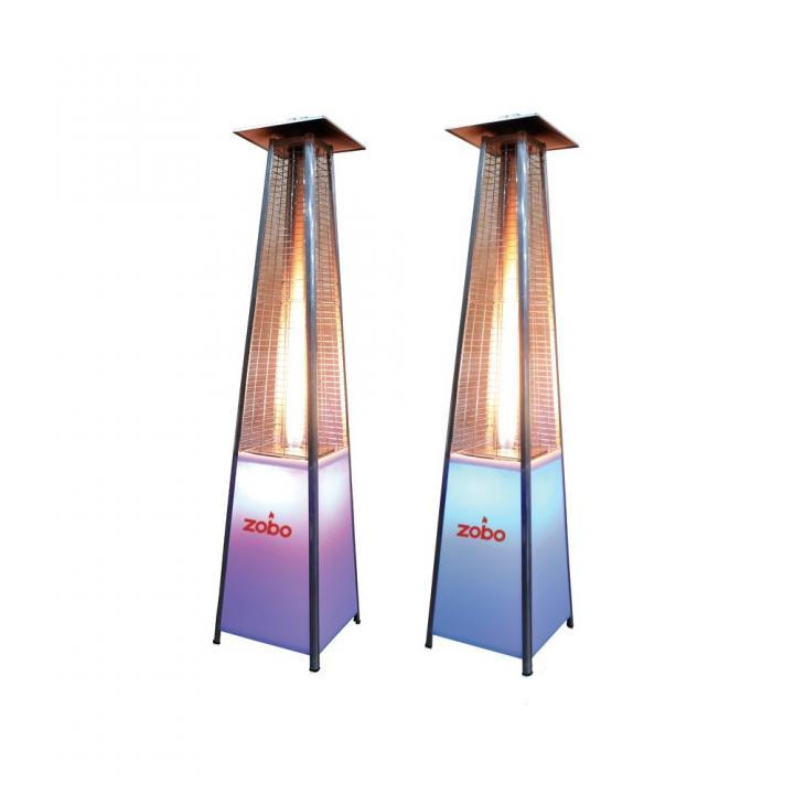 Incalzitor terasa cu led Zobo H1507