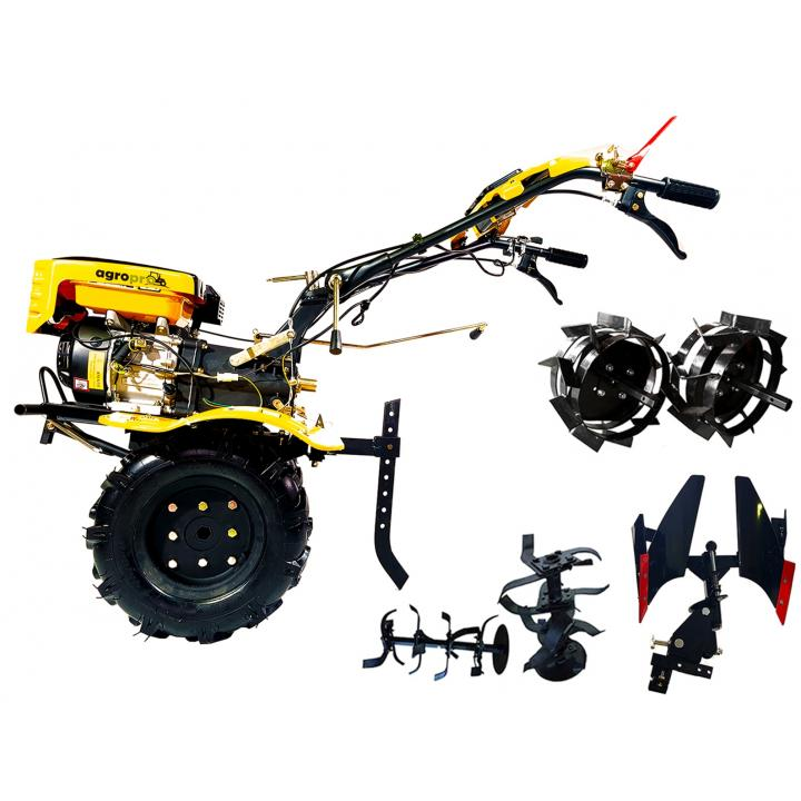 Motocultor Agropro HS 1000 7cp + plug reversibil + roti