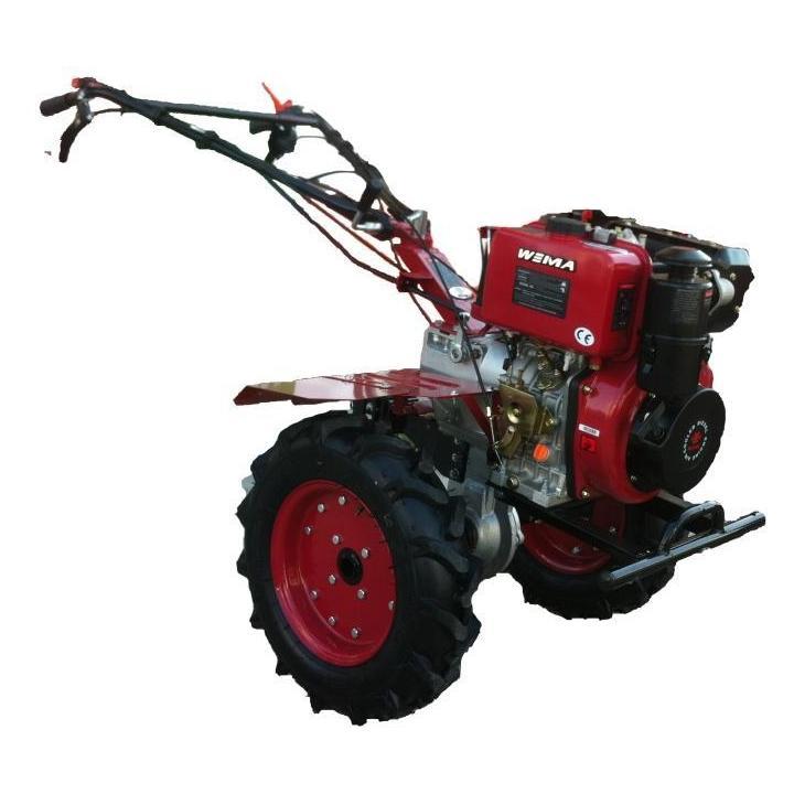 Motocultor BSR 1100BE 9 CP diesel pornire la cheie