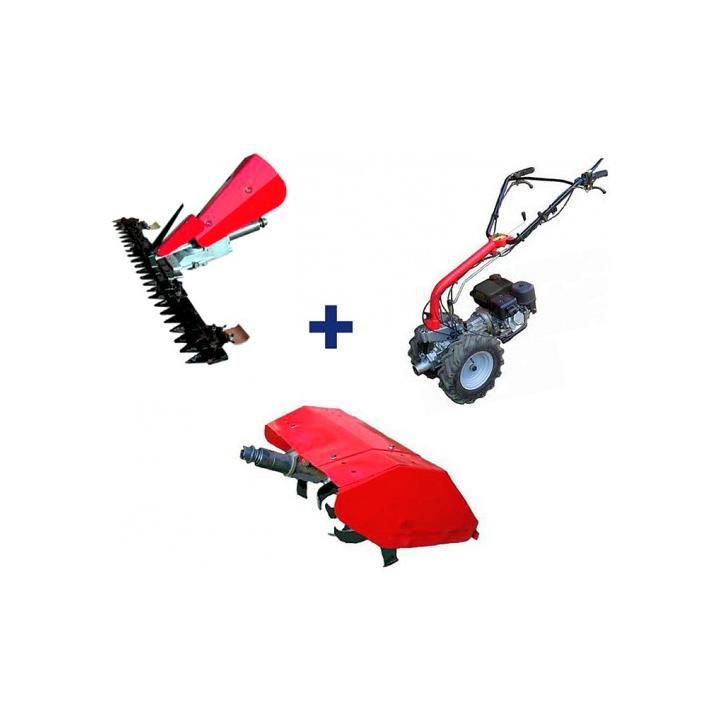 Motocultor Rotakt MF 360 + sistem cosire