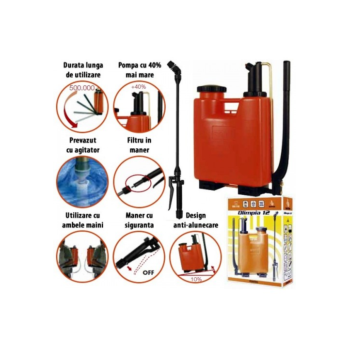 Pulverizator / pompa de stropit portabila Dimartino Bertani