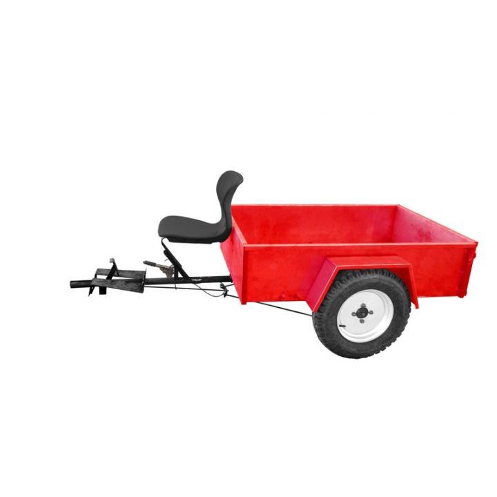 Remorca agricola Hecht 500 kg