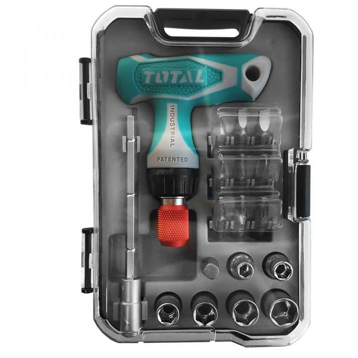 Surubelnita 18 de piese Total Tools