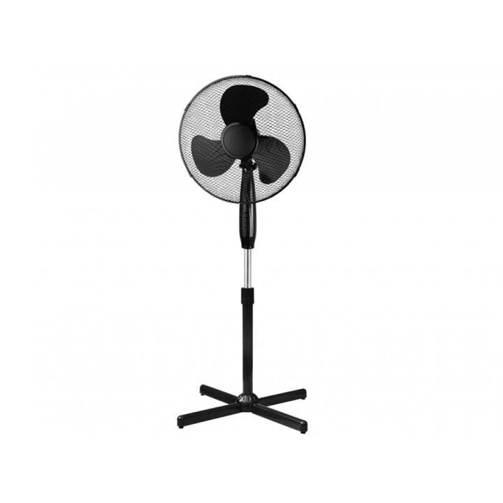 Ventilator cu picior Dedra 16 inch negru
