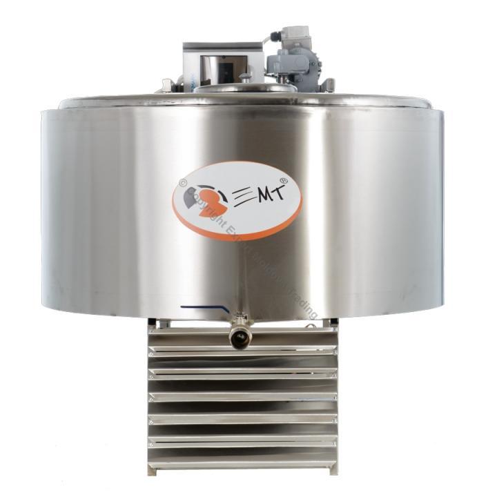 Tanc de racire inox EMT capacitate 300 litri - 380 v