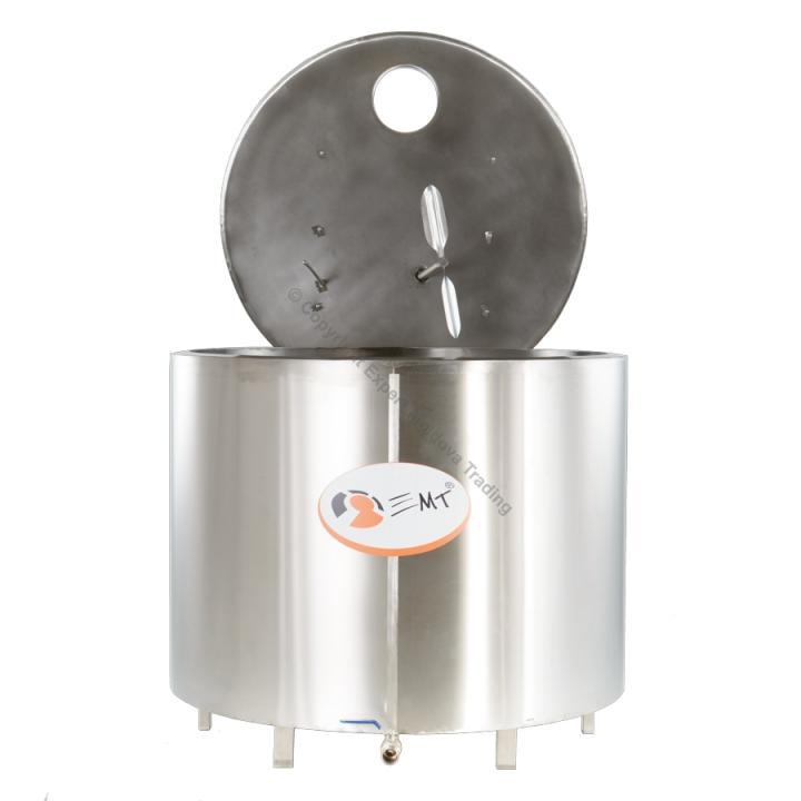 Tanc de racire inox EMT capacitate 900 litri - 380 v