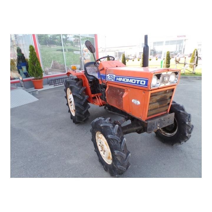 Tractor Hinomoto E264, 26 CP, second hand