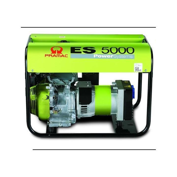 Generator Pramac ES5000 +AVR 5KVA benzina GM1XOF