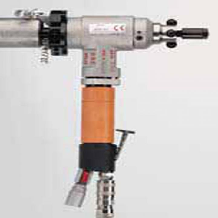 Masini de sanfrenat tevi portabile pneumatice Boiler 1-4