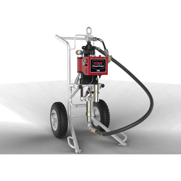 Pompa pneumatica Titan PowerCoat 745, raport presiune 45:1