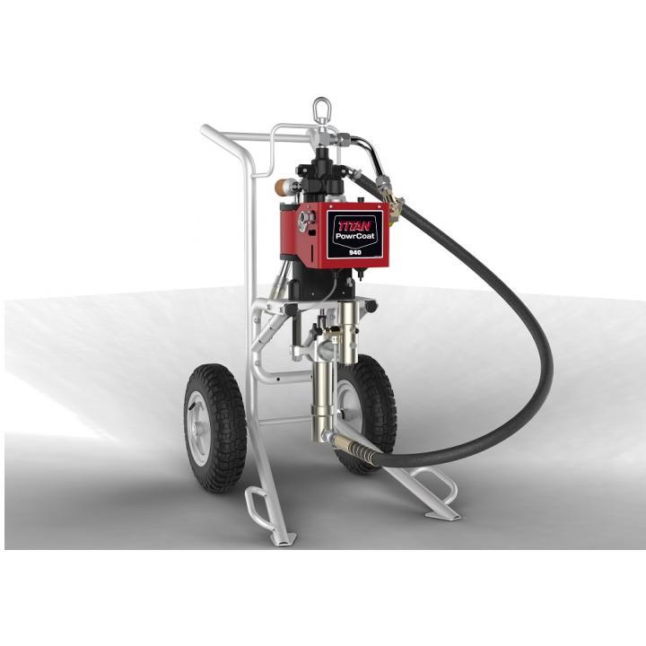 Pompa pneumatica Titan PowerCoat 940, raport presiune 40:1