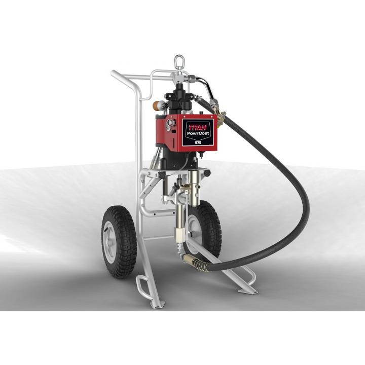 Pompa pneumatica Titan PowerCoat 975, raport presiune 75:1