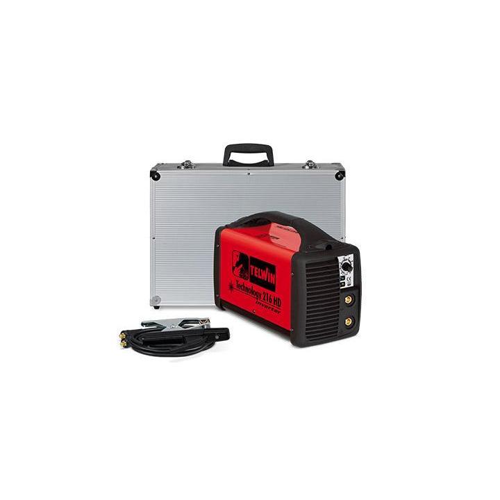 Aparat de sudura Telwin invertor Technology 216HD, 230V