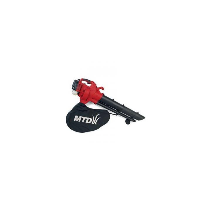 Aspirator si suflanta frunze, benzina, MTD BV 3000 G, 750 W