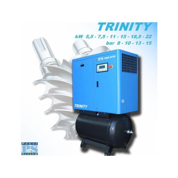 Compresor cu surub Abac Trinity 11-10