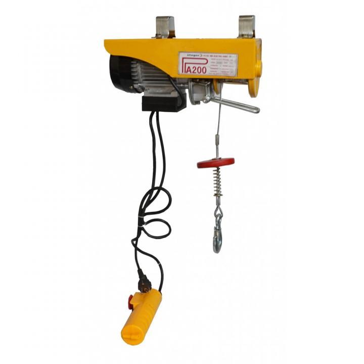 Electropalan Stager PA200, sarcina 100kg/12m sau 200kg/6m