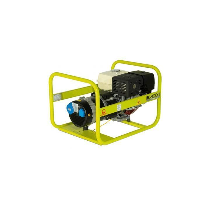 Generator Pramac E8000 8KVA benzina GM1XOF