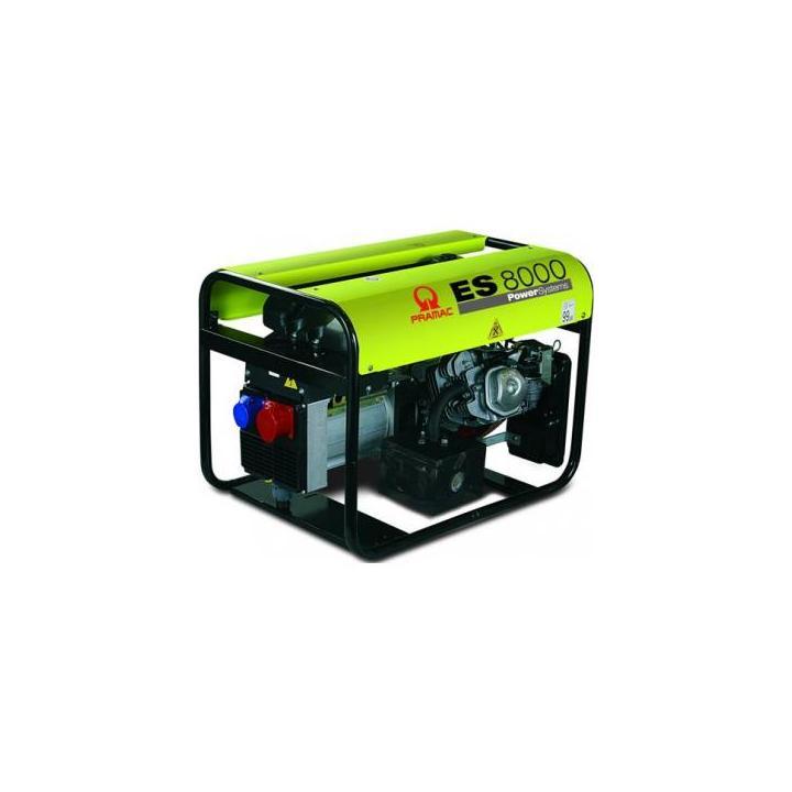 Generator Pramac ES8000 7KVA benzina GM1XOF