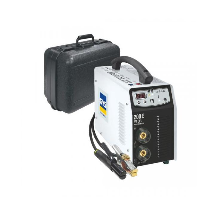 Invertor sudura GYS GYSMI 200E FV CEL, 230V, 200 A