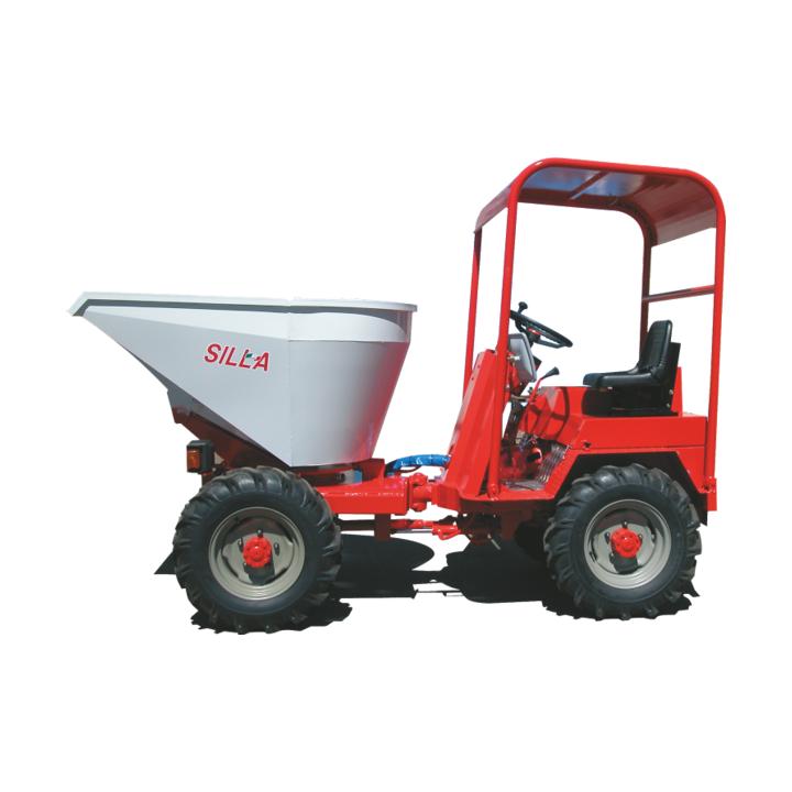 Mini dumper Silla 1000 2 RM, capacitate max 1000 / 1200litri