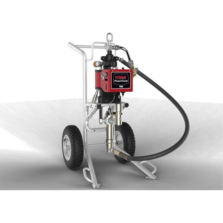 Pompa pneumatica Titan PowerCoat 730, raport presiune 30:1